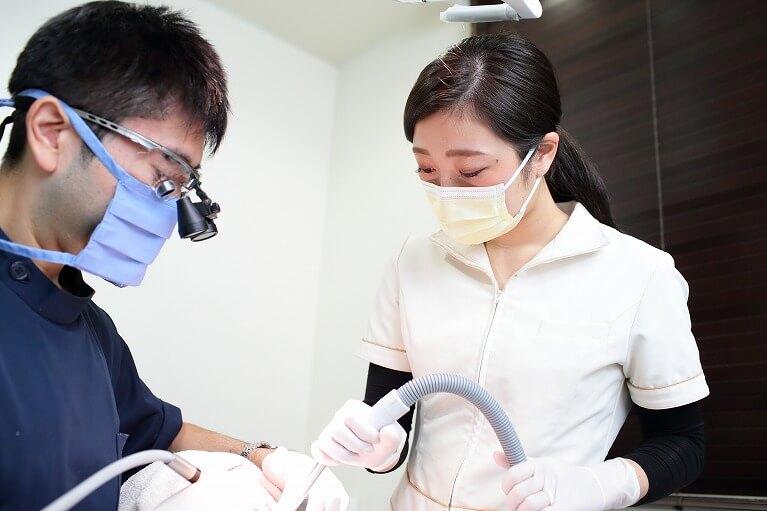 虫歯、歯周病治療